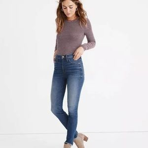 Madewell Brockton High Rise Skinny Jeans Size 24